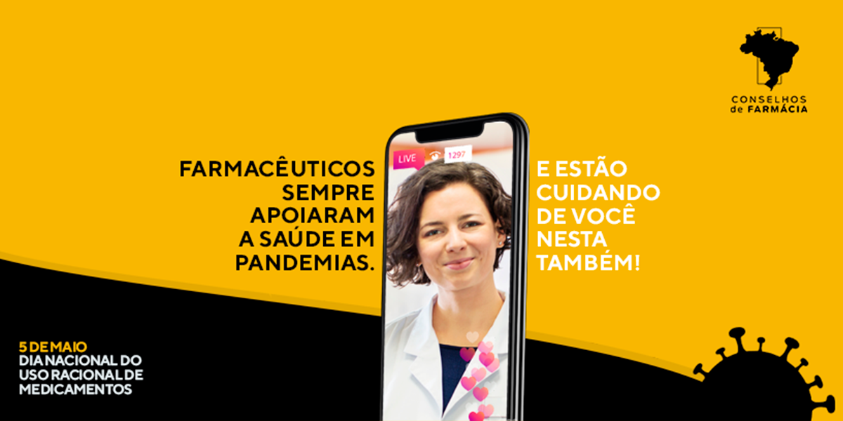 Campanha do Uso Racional de Medicamentos este ano foi virtual